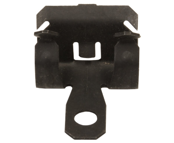 "Hammer-On Beam Flange Clip for 1/8""-1/4"" Flange, with 1/4"" Hole - 100 Pack"