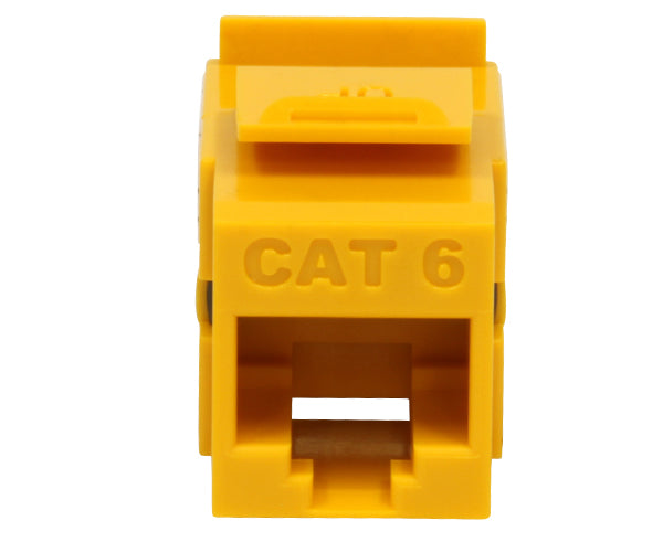 CAT6 Punch Down Keystone Jack, Unshielded MIG+, High Density