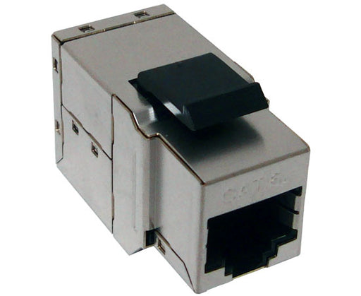 CAT 6A MIG+ 10G RJ45 Shielded Snap-In Coupler Keystone Jack