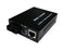 60KM 10/100Base-TX/FX Bridge Single-Mode Media Converter-SC Connector