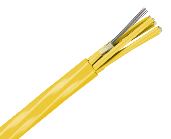 Fiber Optic Cable, Single Mode, 9/125, Indoor High-Density, Plenum