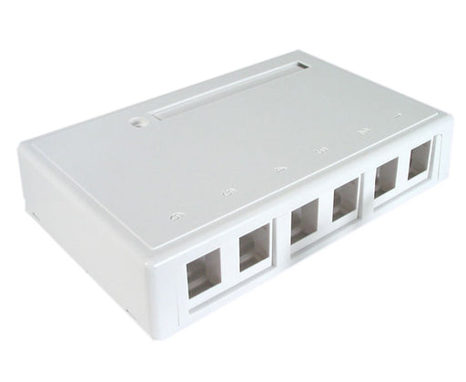 Surface Mount Box, 6-Port
