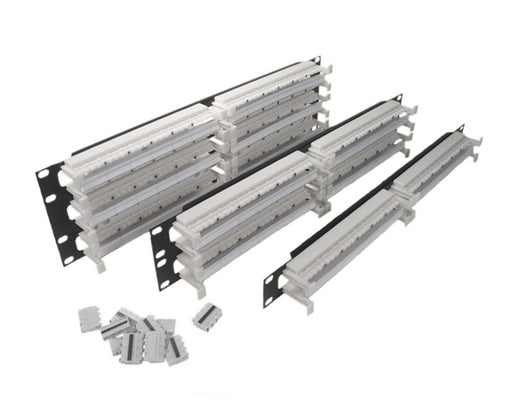 CAT 6 Rack Mount Field Termination Kits