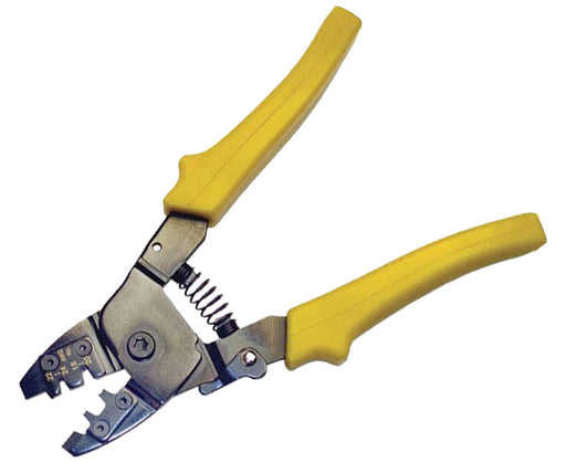 Open Barrel Contact Crimping Tool