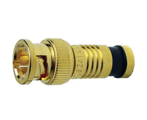 BNC RG6 Gold SealSmart Coaxial Compression Connectors