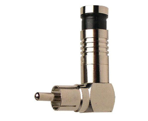 RCA Connector, Nickel Right Angle SealSmart Coaxial Connector