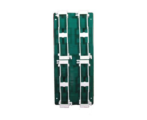 66 Block Backboard Metal, Half (w/ 4 Brackets)