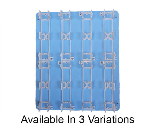 66 Block Wood Backboard - Full, Half and Quarter Sizes