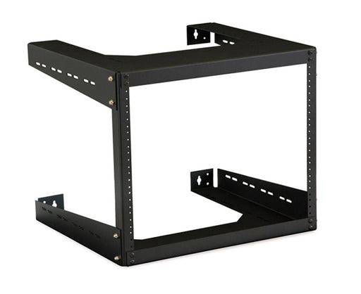 Deep Open Frame Network Wall Rack