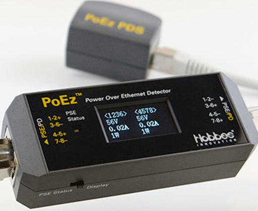 Power Over Ethernet Detector with Powered Simulator