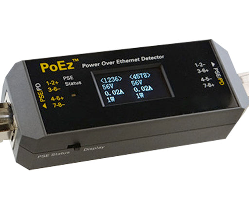 Power Over Ethernet Detector