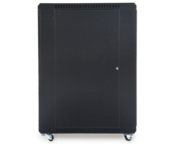 "Network Rack, Server Enclosure, Glass/Solid Doors, Up to 42U - 36"" Depth 4 of 6"