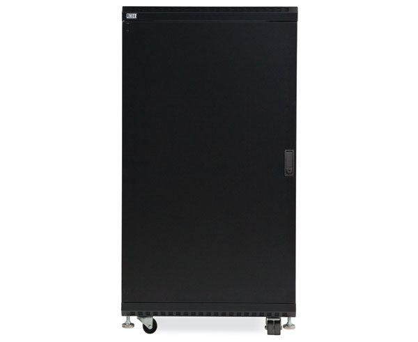 "Network Rack, Server Enclosure, Glass/Solid Doors, Up to 42U - 36"" Depth 5 of 6"