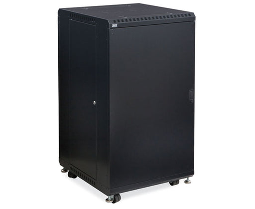 "Network Rack, Server Enclosure, Solid/Convex Doors, Up to 42U - 24"" & 36"" Depth 1 of 6"