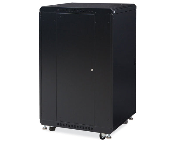 Network Rack, Server Enclosure, Solid/Vented Doors 2 of 7