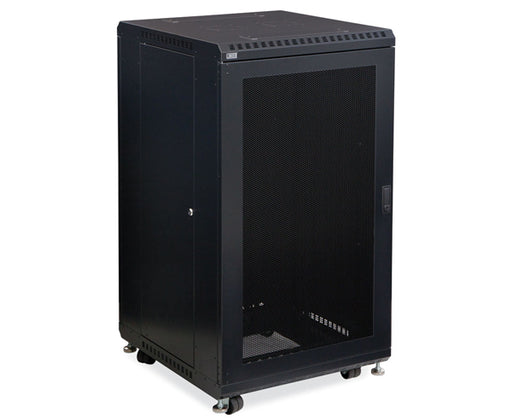 "Network Rack, Server Enclosure, Vented/Vented Doors - 22U, 27U, 37U & 42U - 24"" & 36"" Depth 1 of 6"
