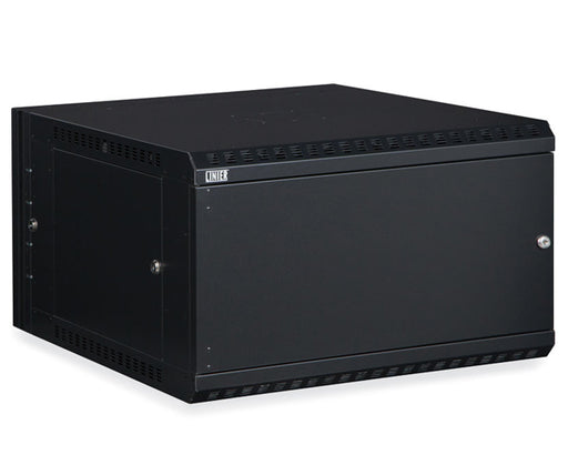 Network Rack, Swing-Out Wall Mount Enclosure, Solid Door - 6U