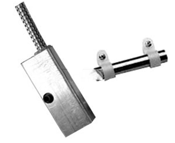 "Mini Curtain Door Switch With 36"" Armored Cable"