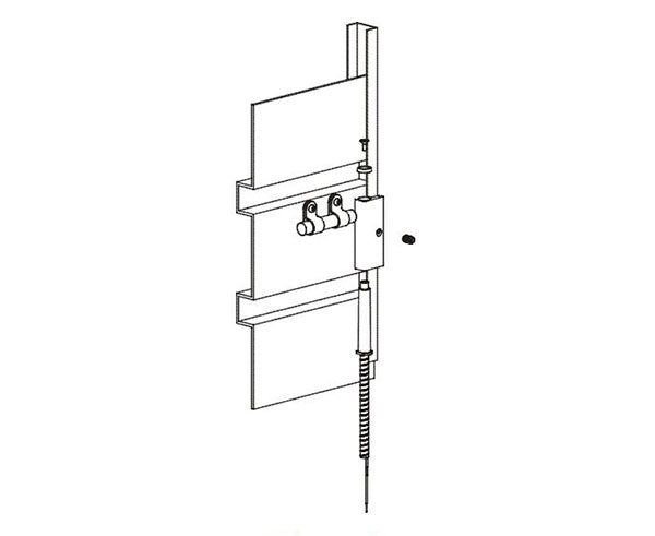 Mini Curtain Door Switch Sets - 4612 Series