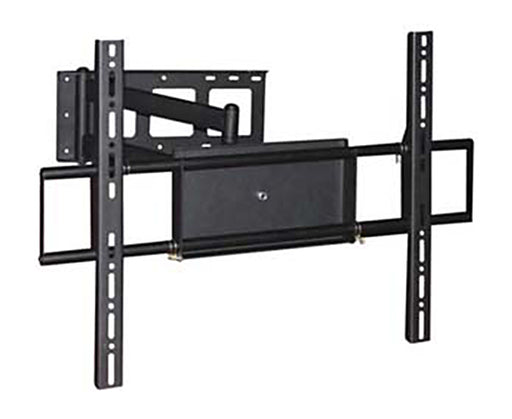 "LED, LCD & Plasma Flat TV Mount Bracket, 37"" to 70"", Tilt & Swivel, Dual 28.3"" Arms, Full Motion, Black"