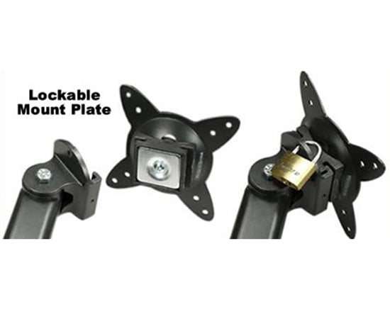 Wall Plate with Lockable Wall Mount