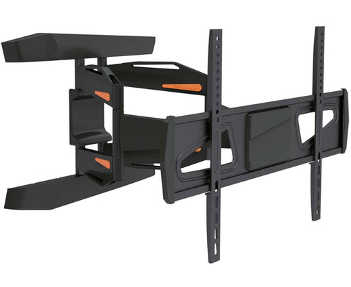 "LED, LCD & Plasma Flat TV Mount Bracket, 37"" to 70"", Tilt & Swivel, Dual 23.7"" Arms, Full Motion, Black"