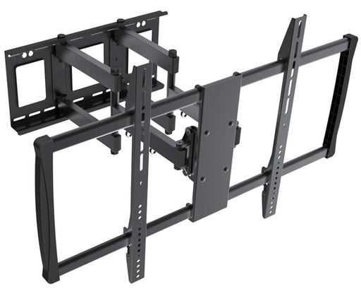 "LED, LCD & Plasma Flat/Curved TV Mount Bracket, 60"" - 100"", Full Motion Tilt & Swivel, Black"