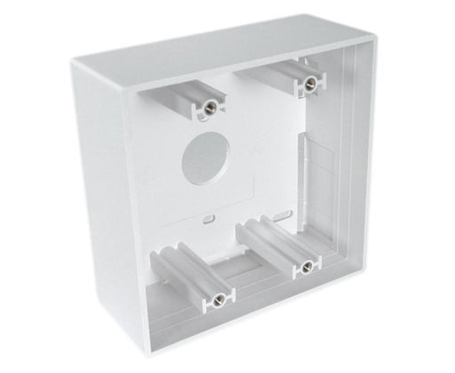 Dual-Gang Wallplate Mounting Box