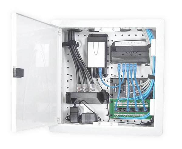 Network Rack, Wall Mount Enclosure, Cabinet Back - 14'' or 28""