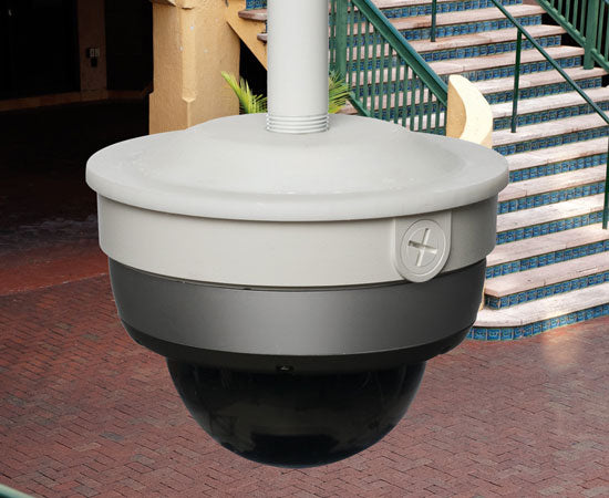 Security Camera Mounting Box, Down Rod
