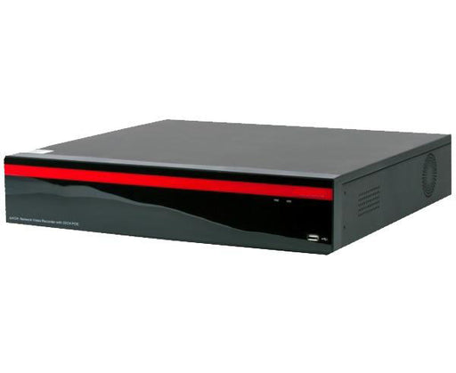 64 Channel NVR, 32 Port PoE, iPac NX, H.265, 4TB to 64TB HD