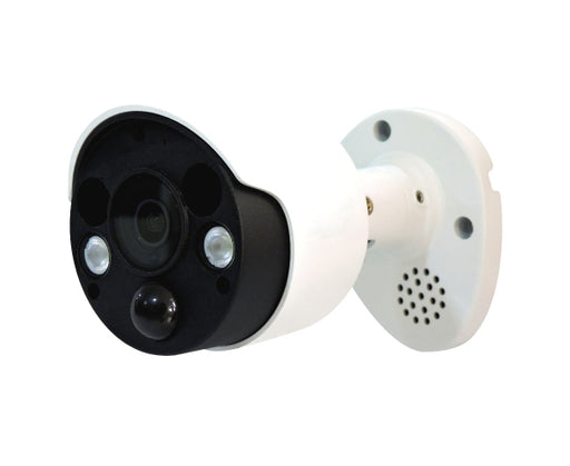 5MP H.265 Outdoor, PIR Motion, Built-in Mic/Speaker Surveillance Camera
