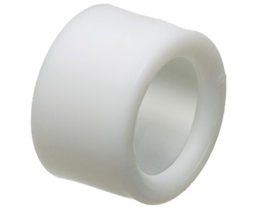 "Press fit Non-Metallic Insulating Bushings for 1"" EMT/Rigid Conduit - White"