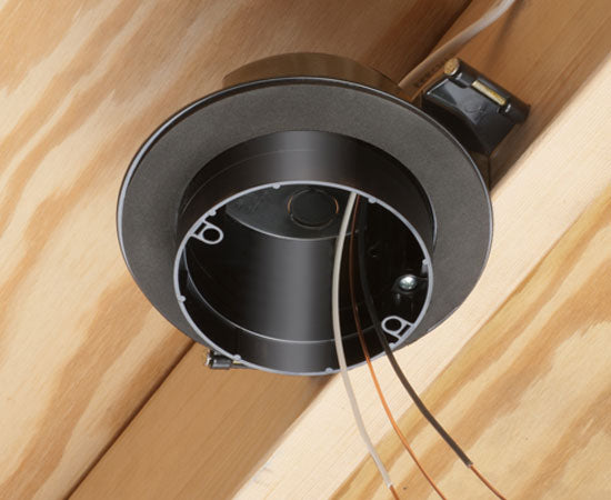 Double Drywall Round Nail-On Vapor Boxes For Fans or Fixtures - New Construction