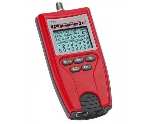 VDV MapMaster 2.0 Field Network Cable Tester