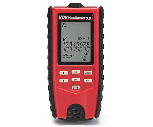 VDV MapMaster 3.0 Network Cable Tester
