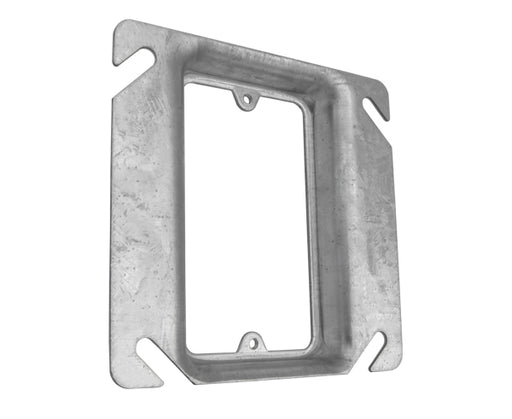 "Steel Electrical Box Cover, 4"" Single Gang"