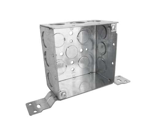 "4"" Electrical Box with Wall Bracket, Steel"
