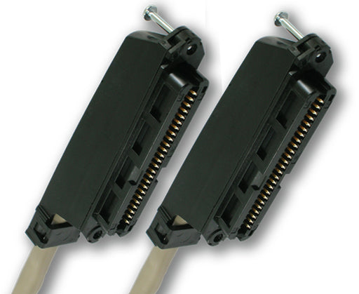 Cat3 25-Pair Cables With Amphenol-Type F/F Connectors - 5FT