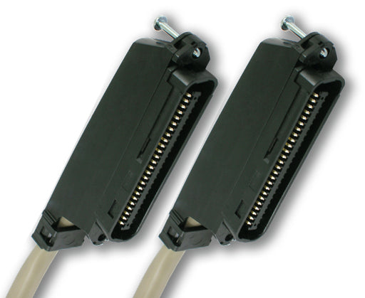 Cat3 25-Pair Cables With Amphenol-Type M/M Connectors - 5FT