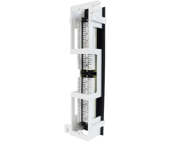 CAT5E 12 Port Vertical Patch Panel w/ Bracket_5