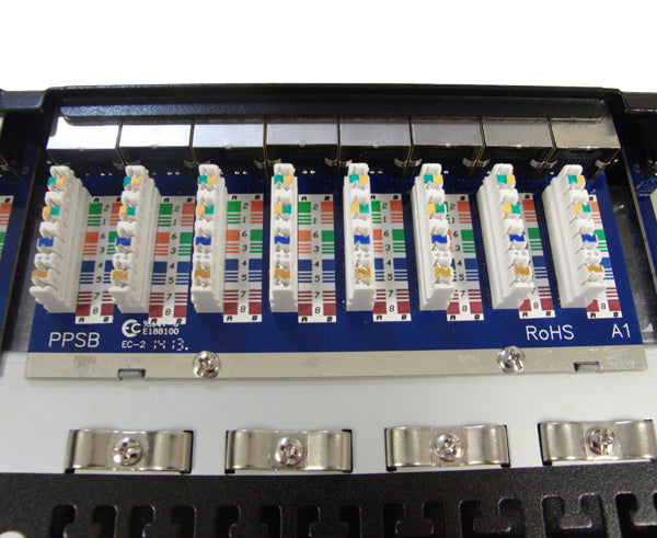 CAT5E High Density 48 Shielded Patch Panel, 1U 5 view