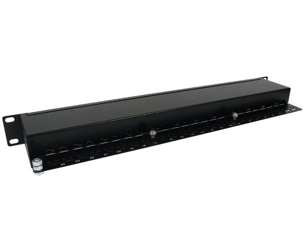 CAT6 24 Port Shielded Patch Panel, 1U_04
