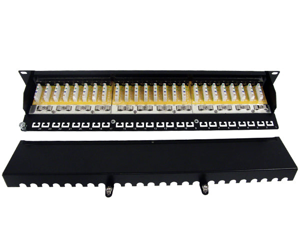 CAT6 24 Port Shielded Patch Panel, 1U_05