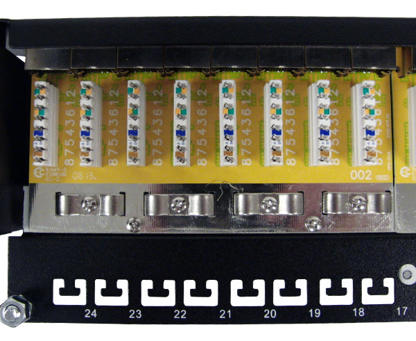 CAT6 24 Port Shielded Patch Panel, 1U_06