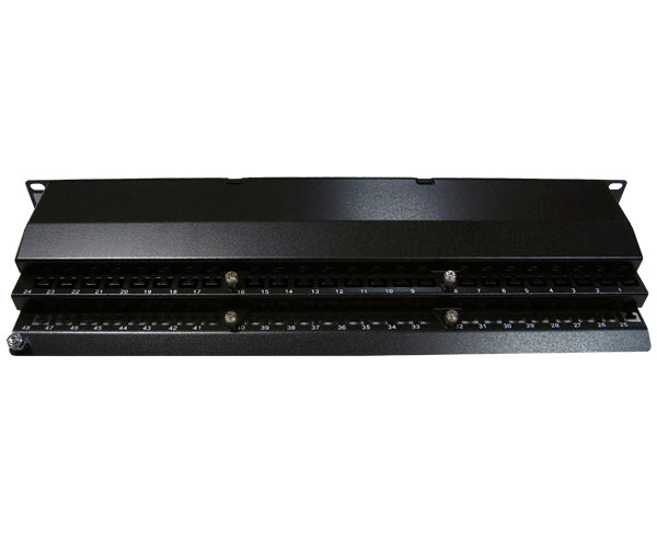 CAT 6 High Density 48 Shielded Patch Panel, 1U_04