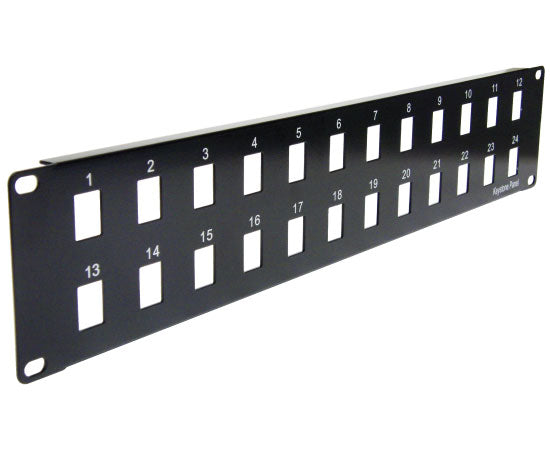Blank Patch Panel - 24 Port