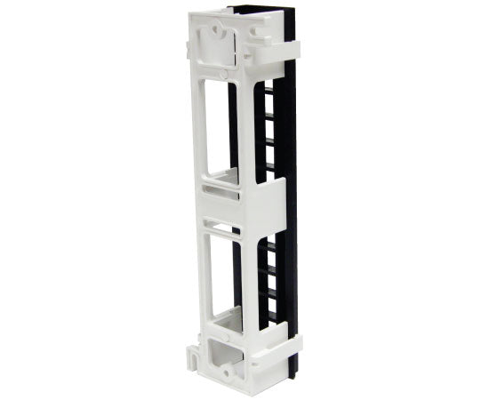 ICC Vertical HD Blank Patch Panel, front top 3 of 8
