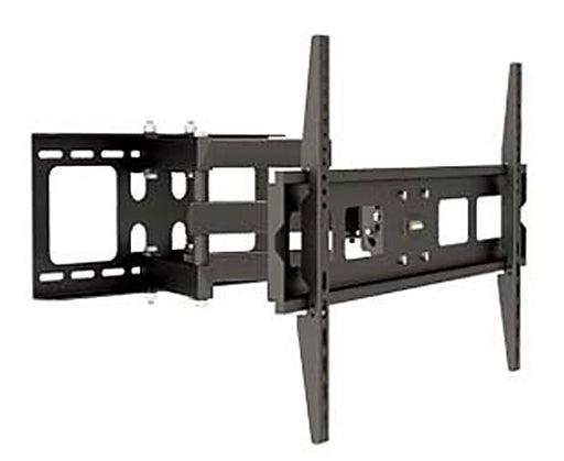 "LED, LCD & Plasma Flat TV Mount Bracket, 37"" to 63"", Tilt & Swivel, 20"" Arm, Full Motion, Black"