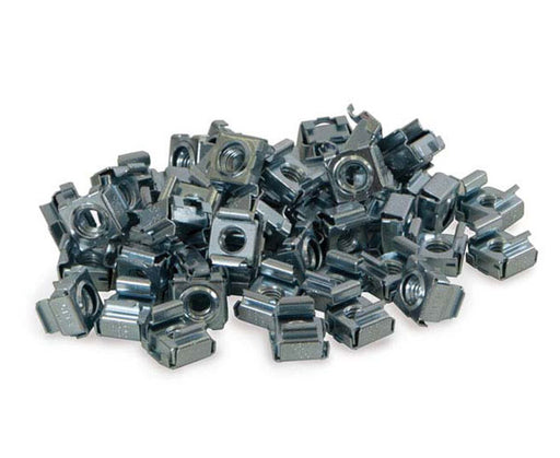 Network Rack, 10-32 Cage Nuts, 50 Pack